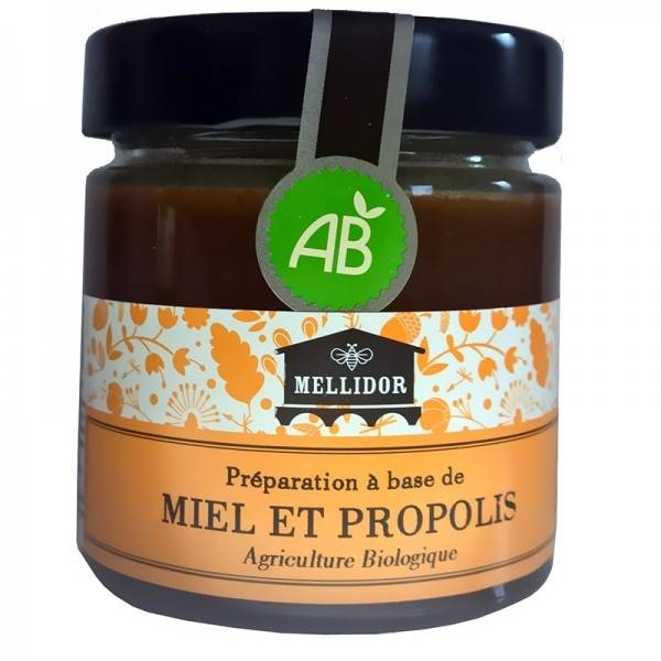 Mellidor Miel et propolis Préparation bio