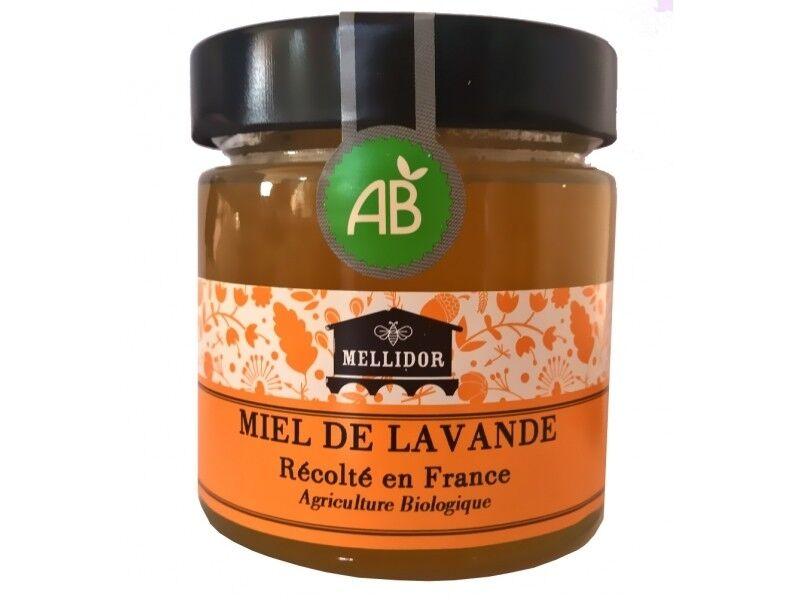Mellidor Miel de lavande bio Récolté en France