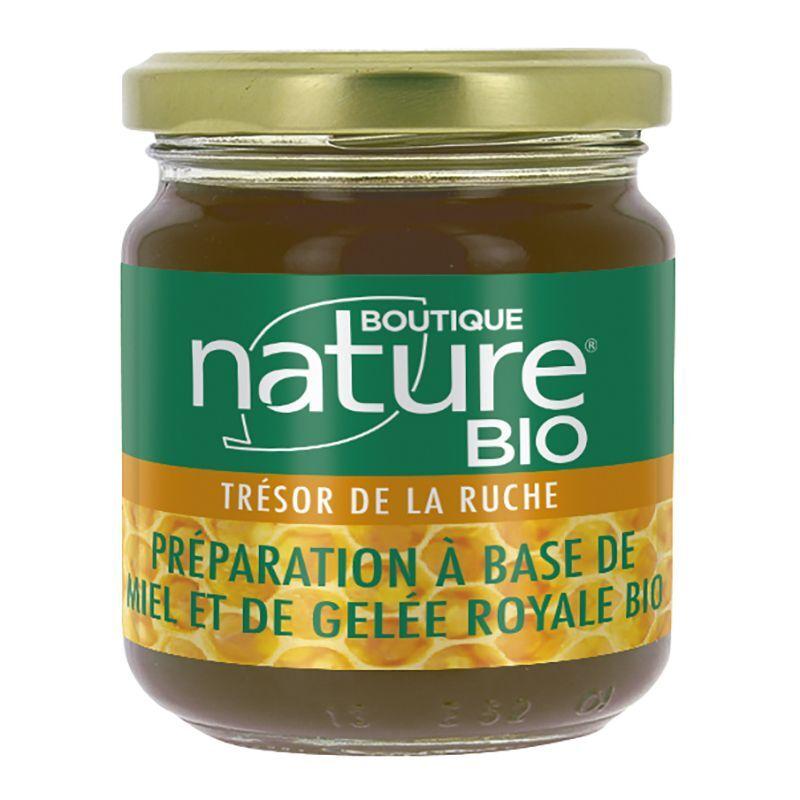 Boutique Nature Préparation à base de Miel et gelée royale bio