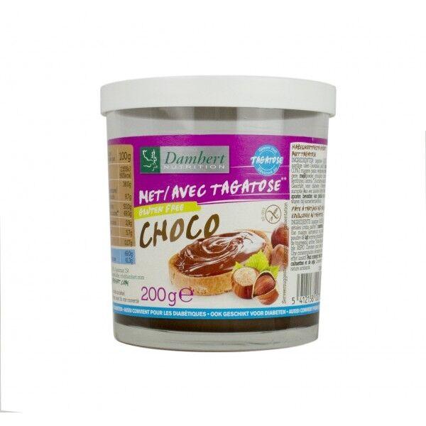 Damhert Nutrition Pâte à tartiner Chocolat Noisette au tagatose