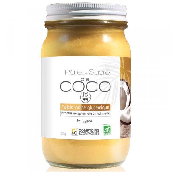 Comptoirs et Compagnies Pâte de sucre de coco bio