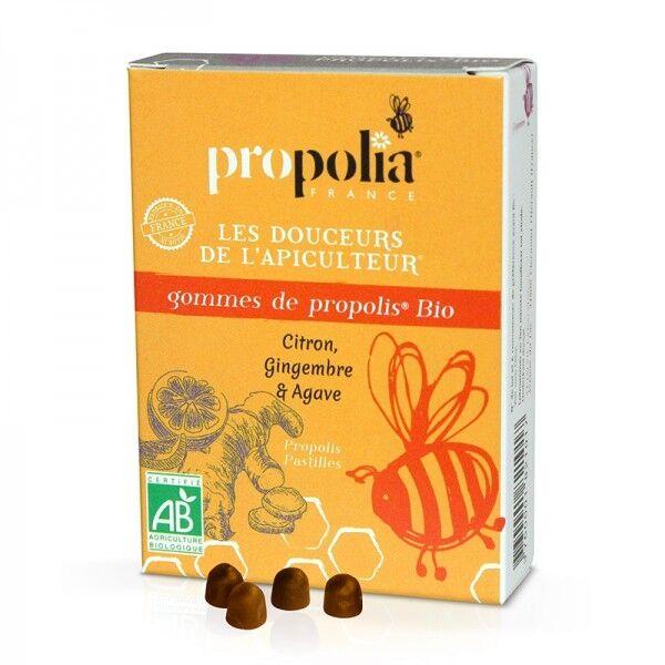 Propolia Gommes de propolis bio Citron, gingembre & agave