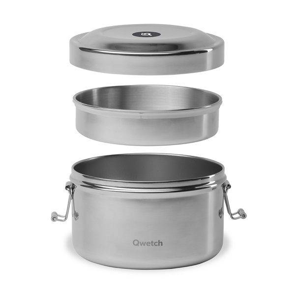 Qwetch Bento inox boîte repas isotherme sans BPA