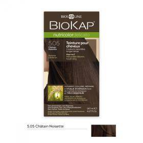 Biokap coloration cheveux Nutricolor Delicato chatain chocolat 4.05