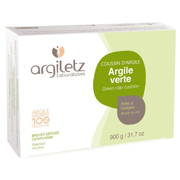 Argiletz Coussin d'Argile verte 36 alvéoles prêt à l'emploi