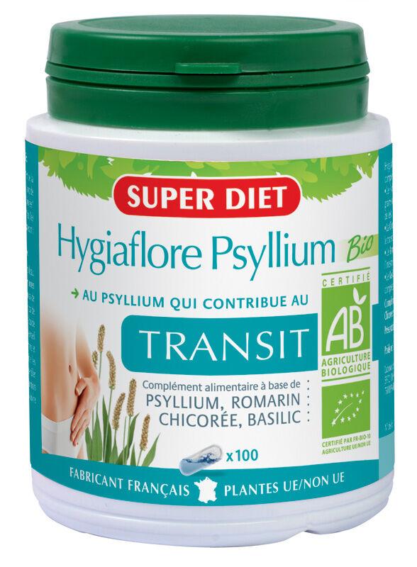 Super Diet Hygiaflore Psyllium bio gélules