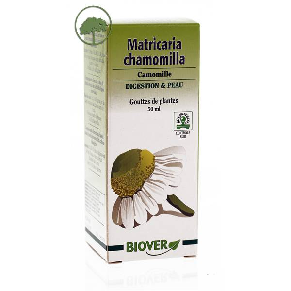 Biover Camomille - Matricaria chamomilla Bio - Teinture mère bio Biover
