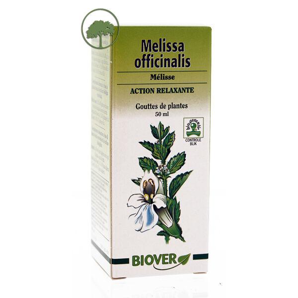 Biover Mélisse - Melissa officinalis Bio - Teinture mère bio Biover