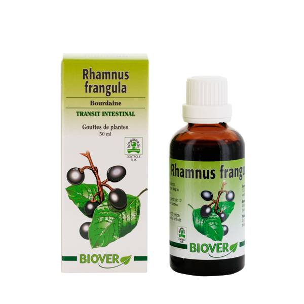 Biover Bourdaine - Rhamnus frangula Bio - Teinture mère bio Biover