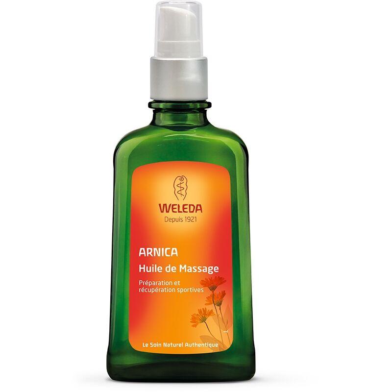 Weleda Huile de massage à l'Arnica Flacon-pompe 100 ml