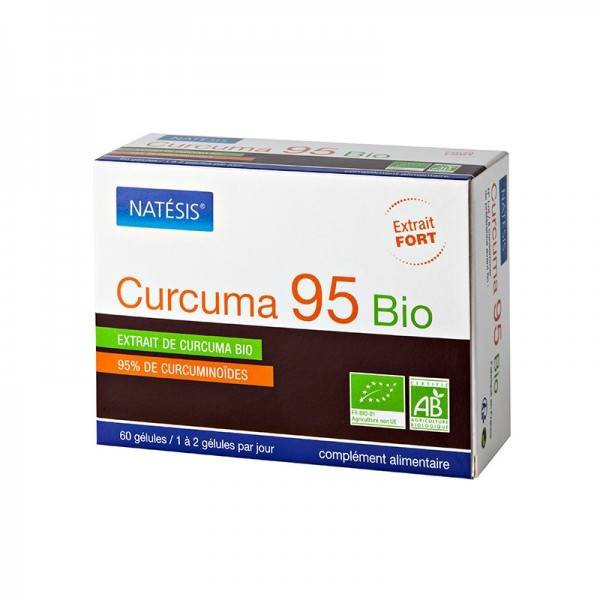 Natésis Curcuma 95 bio extrait fort