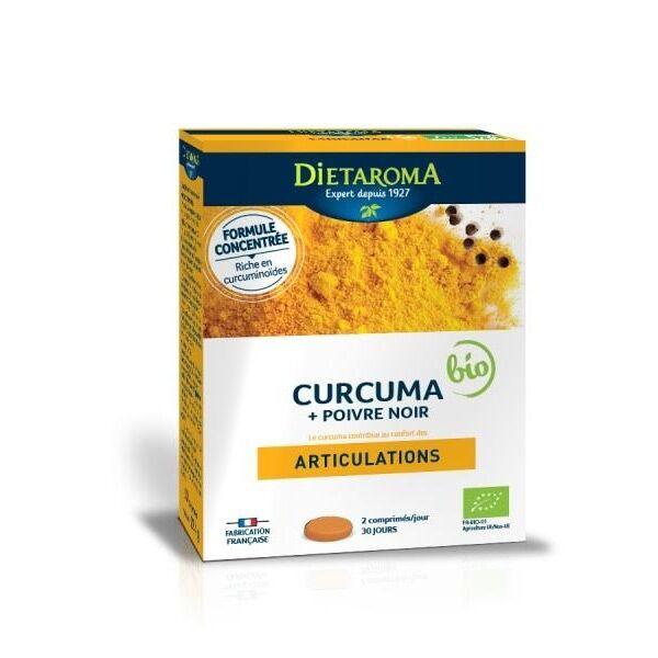Dietaroma Curcuma bio + poivre noir Articulations