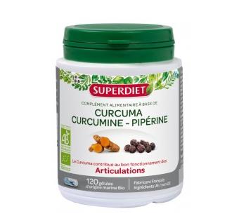 Super Diet Curcuma curcumine piperine bio
