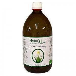 NaturAloe Pur jus d'Aloe vera bio - 1 litre