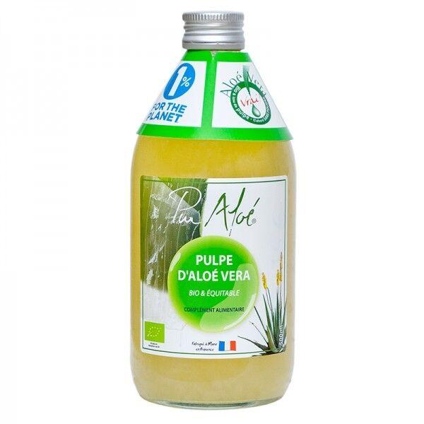 Pur Aloé Pulpe d'aloe vera bio & équitable à boire