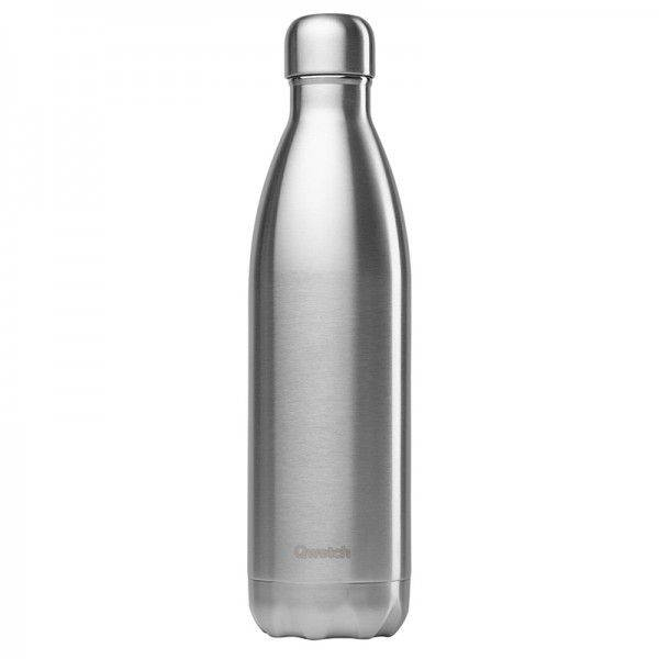 Qwetch Bouteille isotherme en inox - 750 ml Inox brossé