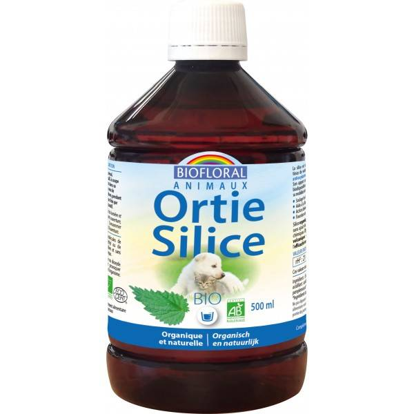 Biofloral Ortie Silice bio Animaux