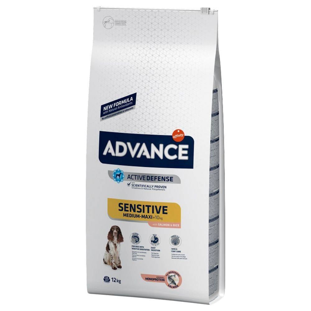 Affinity Advance 2x15kg Sensitive Adult saumon, riz Advance - Croquettes pour Chien