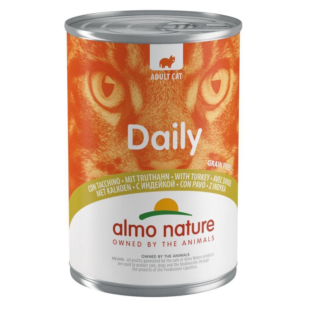 Almo Nature Daily Menu 24x400g bœuf Almo Nature Daily Menu - Pâtée pour Chat
