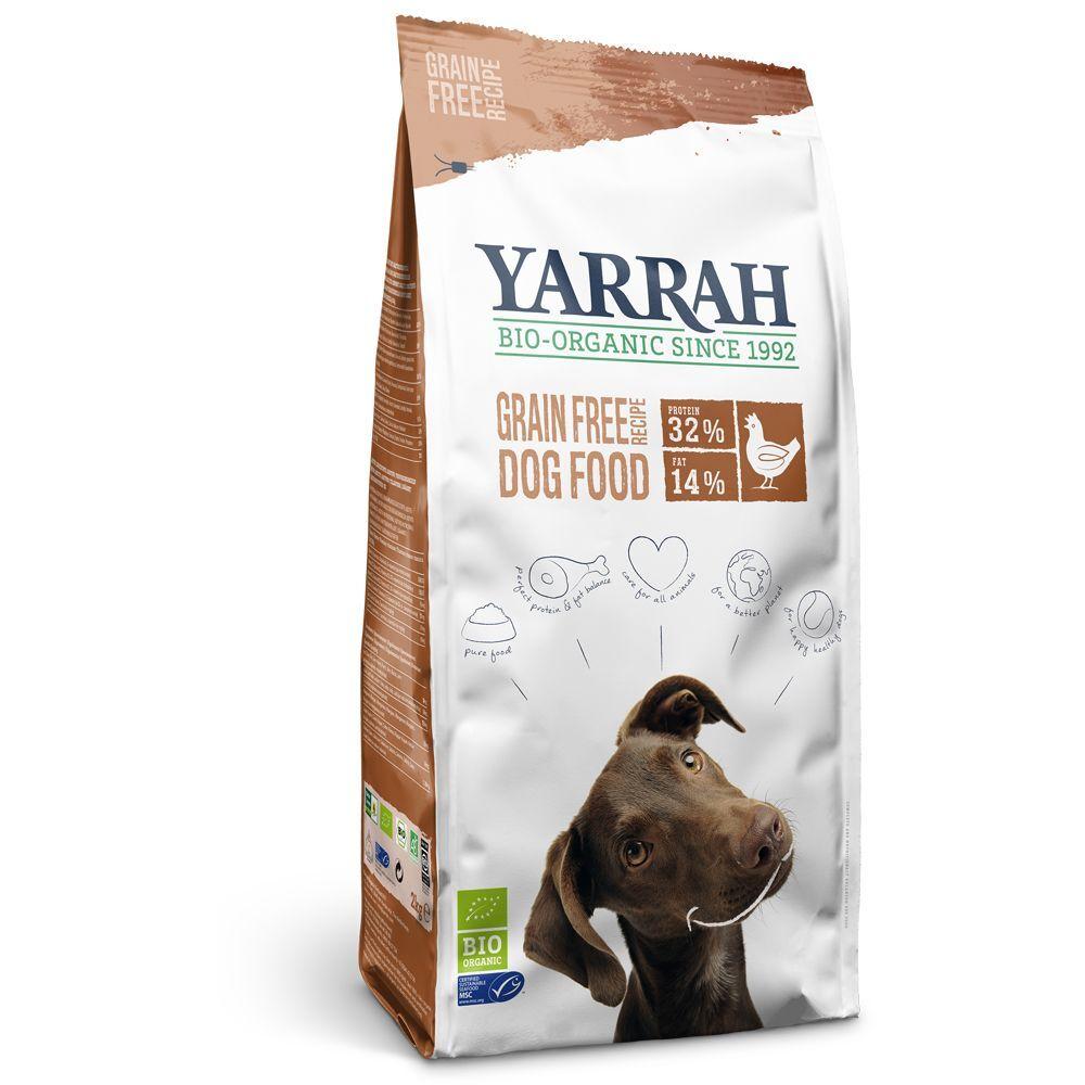 Yarrah Lots économiques Yarrah Bio - sans céréales, poulet bio (2 x 10 kg)