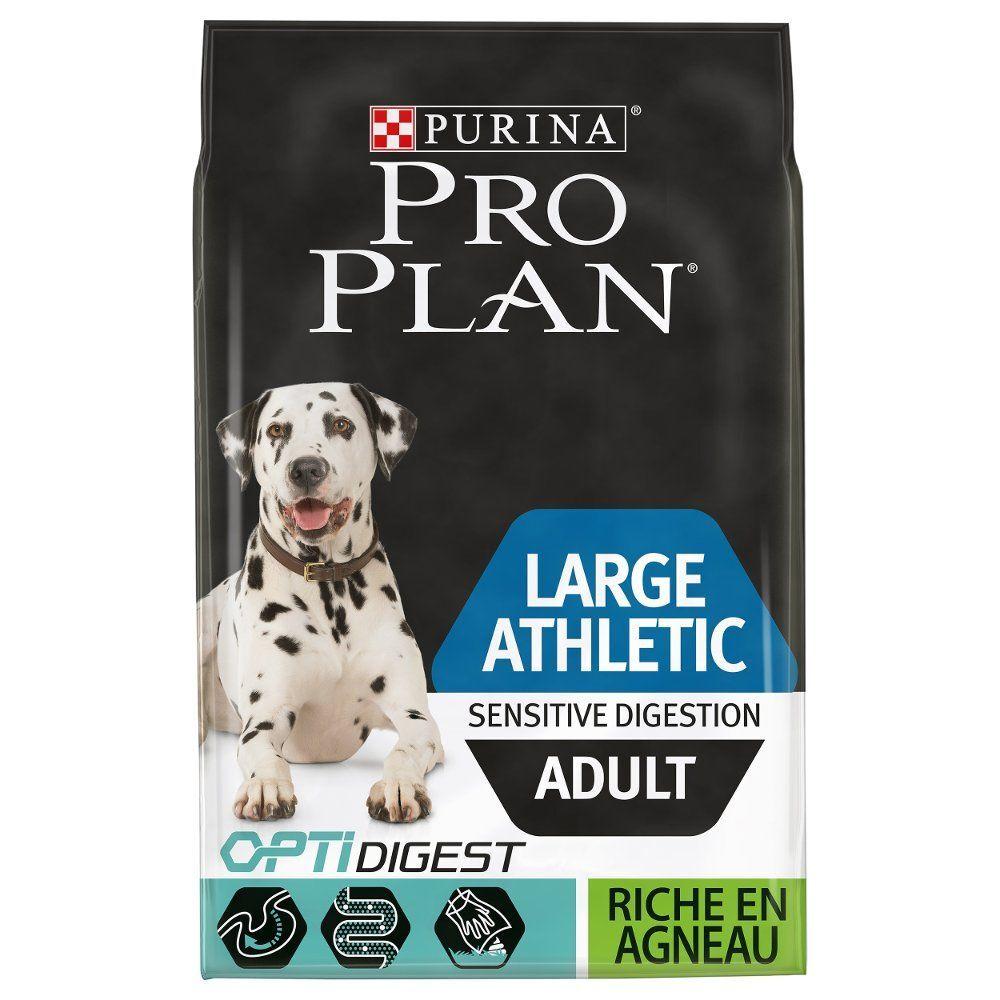 PRO PLAN Large Athletic Adult Sensitive Digestion agneau - lot % : 2...