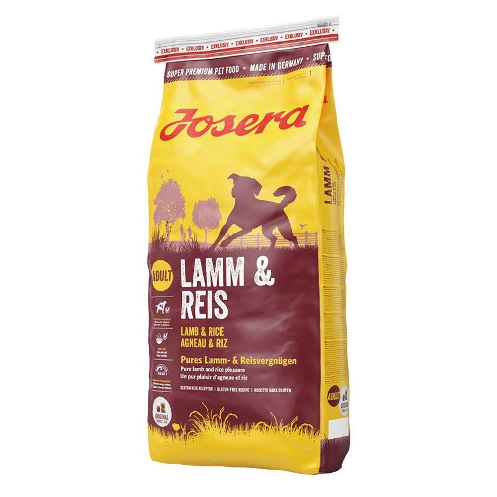 Josera 15kg Josera agneau, riz - Croquettes pour chien