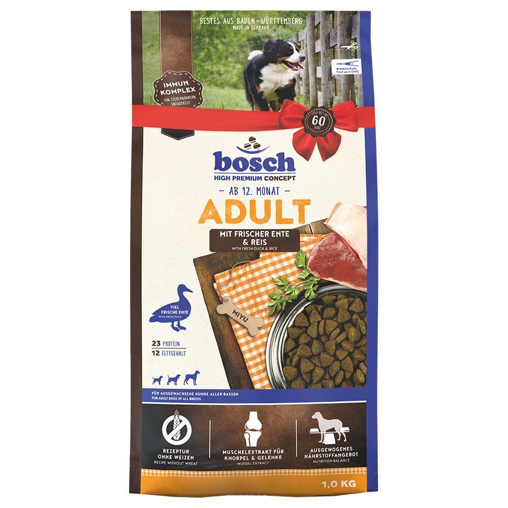 Bosch High Premium concept 2x15kg Bosch Adult canard, riz - Croquettes pour chien