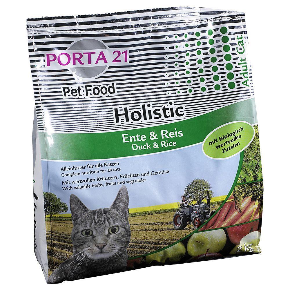 Porta 21 2x10kg Holistic Cat, canard & riz Porta 21 - Croquettes pour Chat