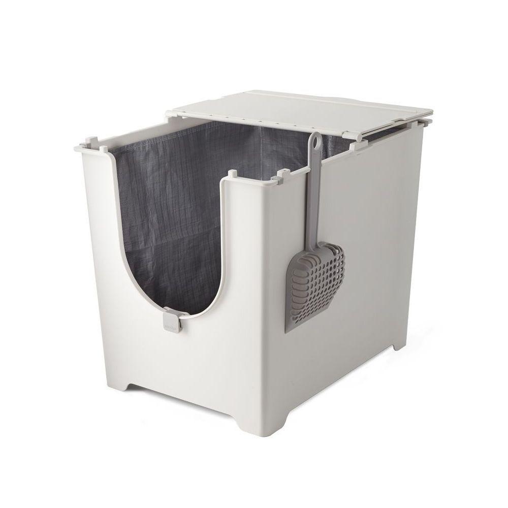 Modkat Maison de toilette Modko Flip - L 52 x l 40 x H 42,5 cm