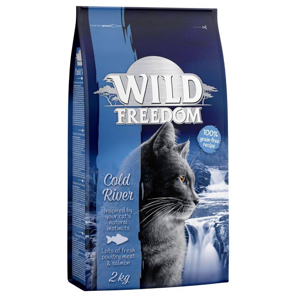 Wild Freedom 400g Adult Cold River, saumon Wild Freedom - Croquettes pour Chat
