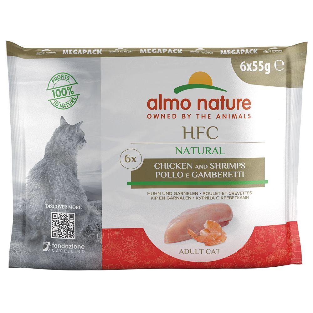 Almo Nature Classic 6x55 g Thon, poulet Classic, Almo Nature - Pâtée pour chat