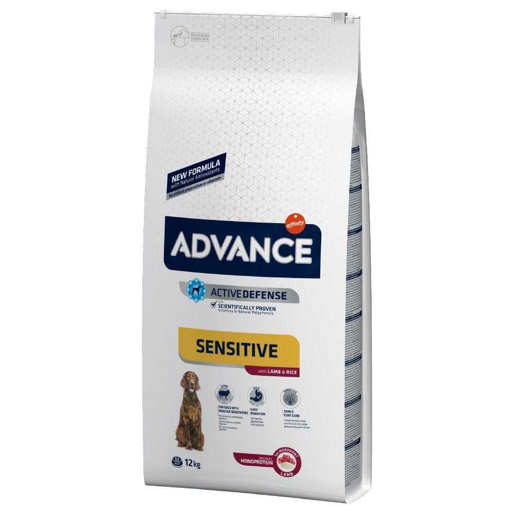 Affinity Advance 2x12kg Sensitive Adult agneau, riz Advance - Croquettes pour Chien