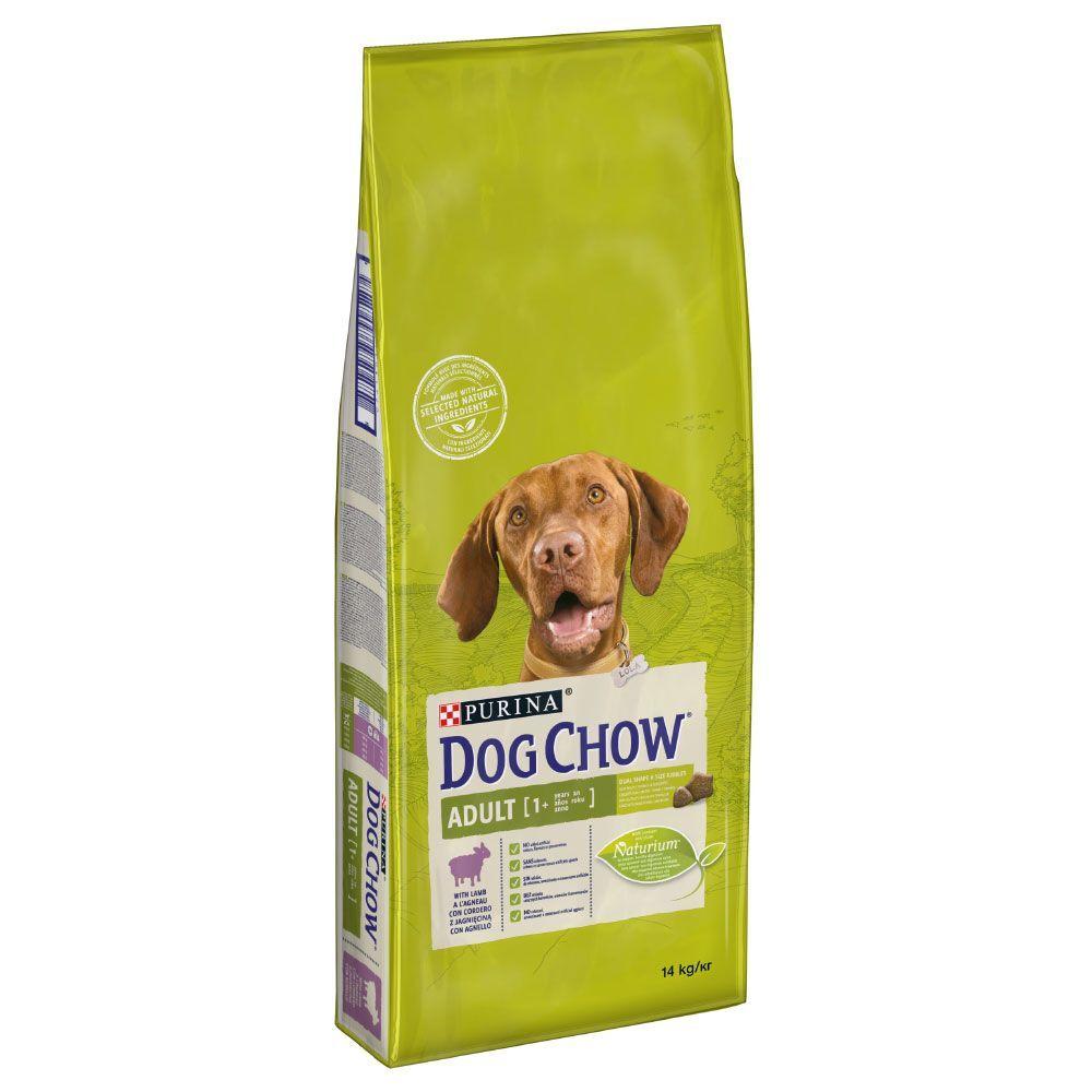 Dog Chow Purina Dog Chow Adult, agneau & riz - lot % : 2 x 14 kg