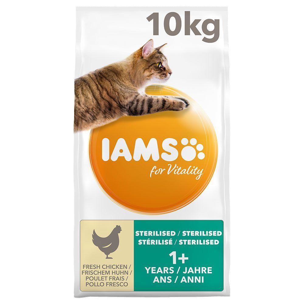 IAMS 2x10kg IAMS for Vitality Light / Sterilised - Croquettes pour chat