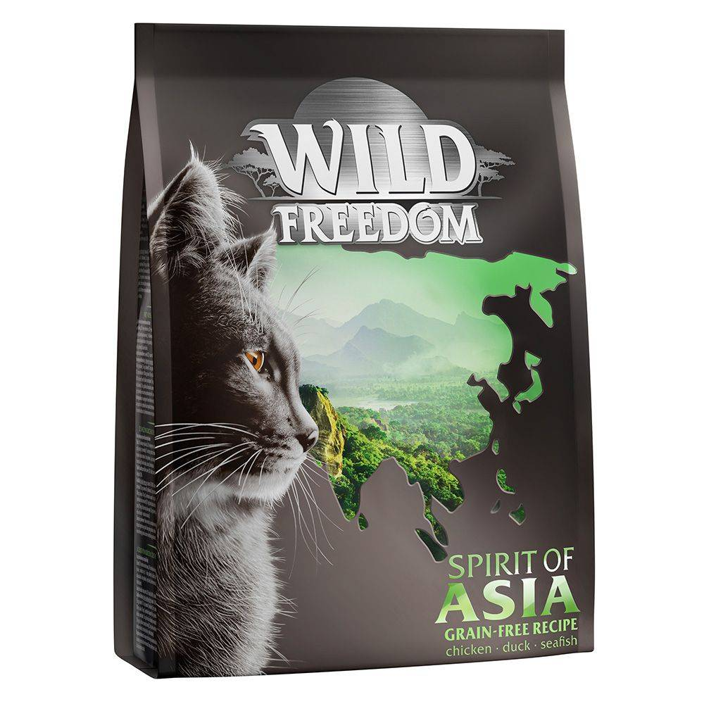 Wild Freedom Spirit of Asia pour chat lot % : 3 x 2 kg
