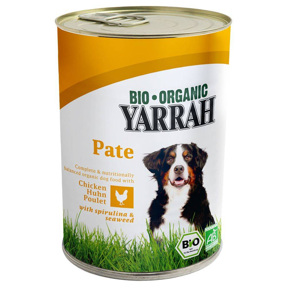 Yarrah Lot Yarrah Bio 24 x 400/405g - bœuf bio, orties bios, tomates bios...
