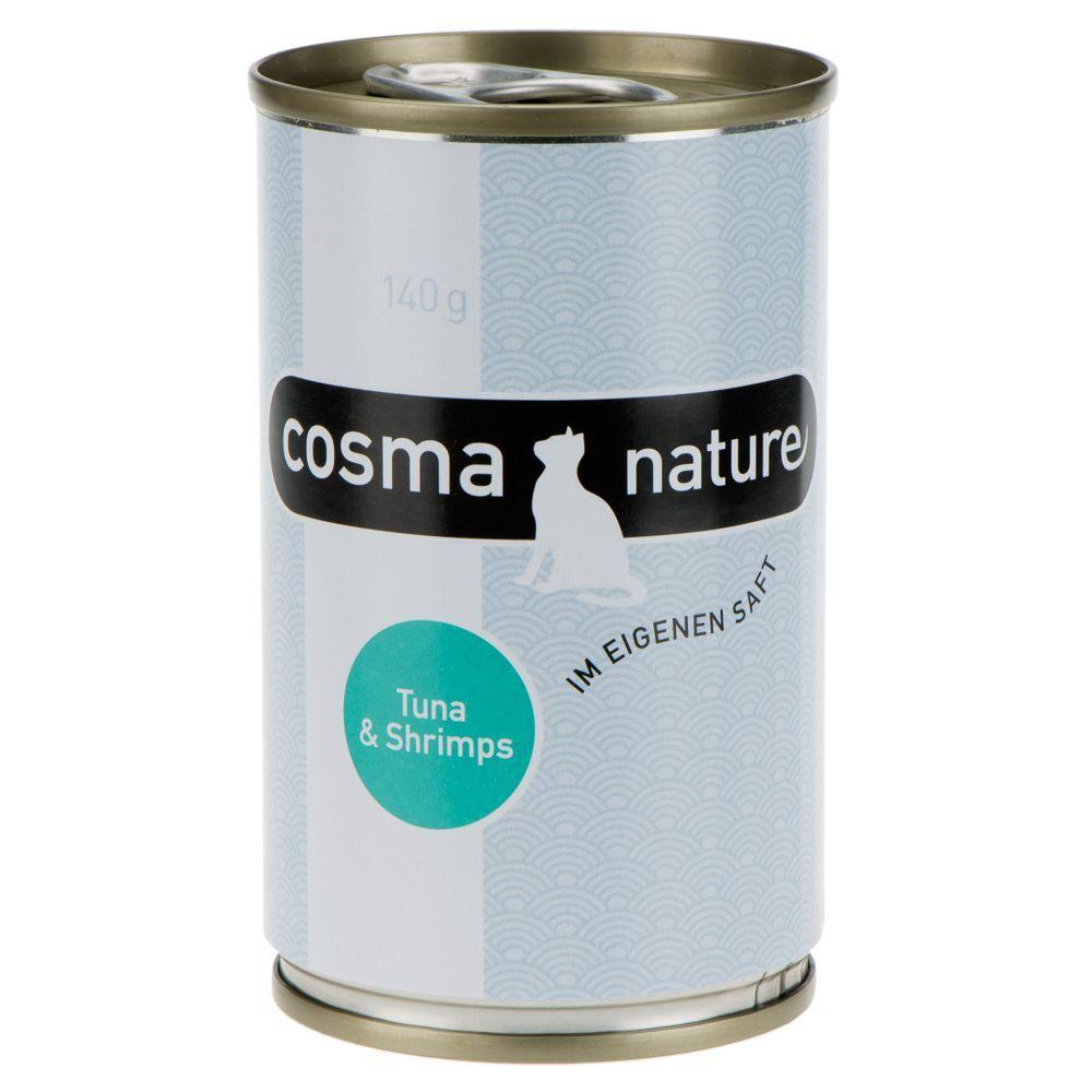 Cosma Offre découverte Cosma Nature - offre découverte de 6 saveurs (6 x 70 g)