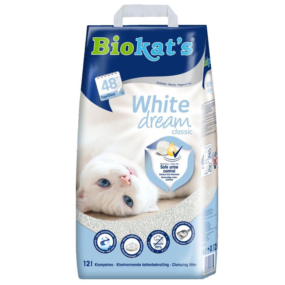 Biokat's Litière Biokat's White Dream - 12 L