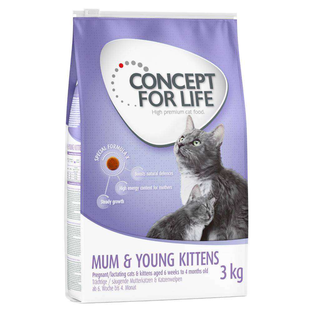 Concept for Life Mum & Young Kittens pour chatte et chaton - 400 g