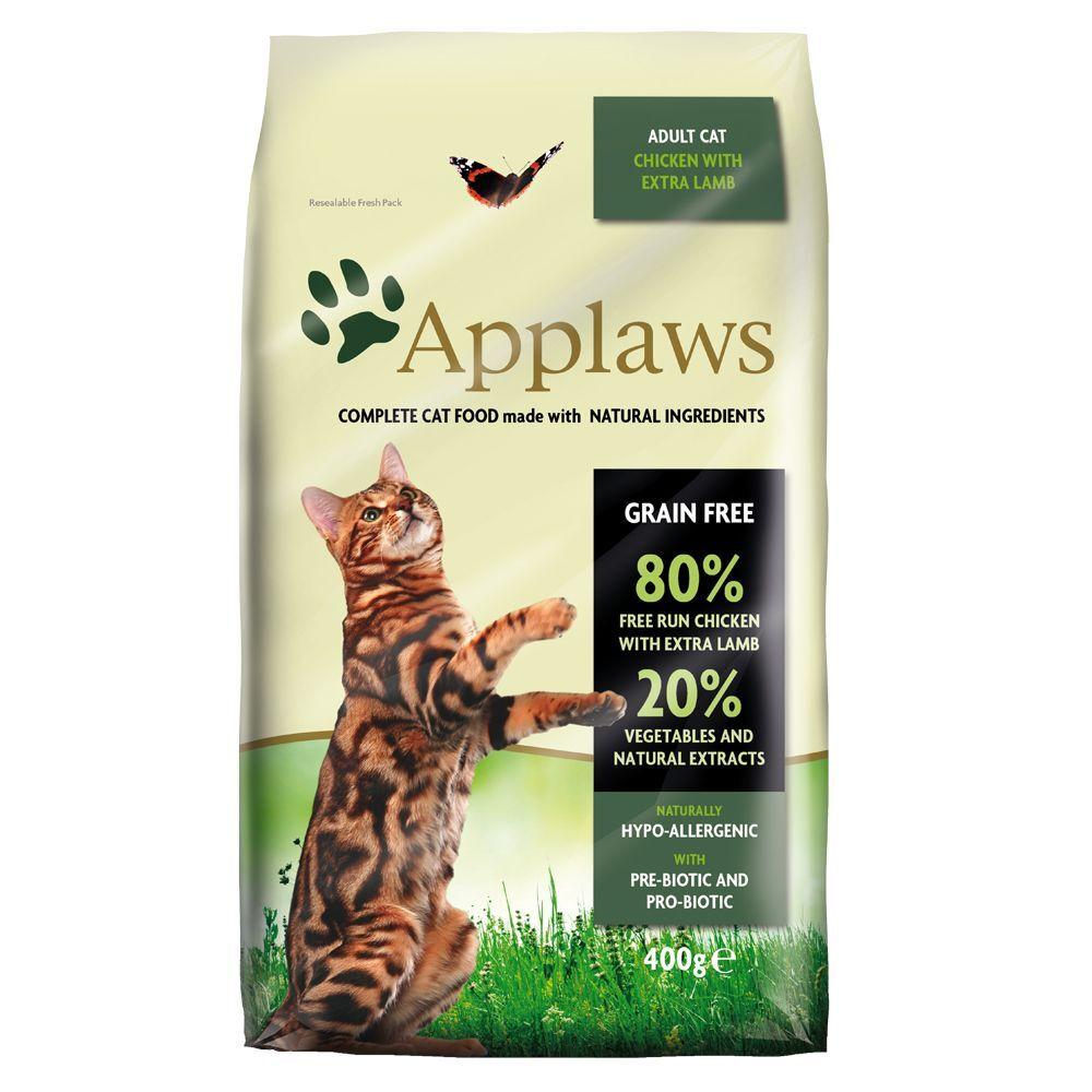 Applaws 2x7,5kg Adult poulet & agneau Applaws - Croquettes pour Chat