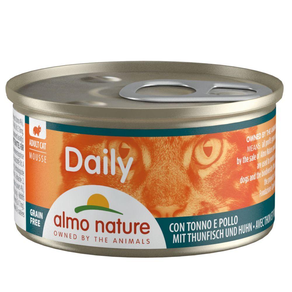 Almo Nature Daily Menu 24x85g mousse au saumon Almo Nature Daily Menu - Nourriture pour Chat