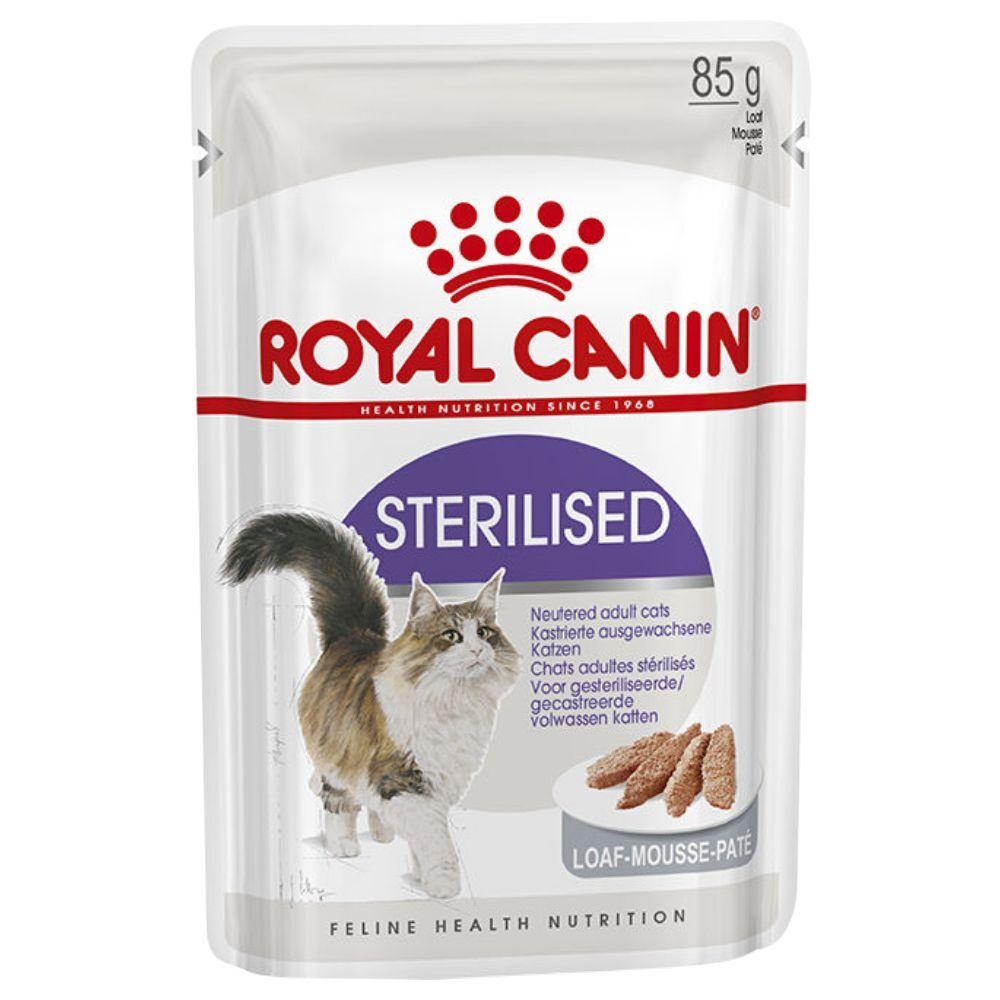 Royal Canin Lot Royal Canin 48 x 85 g - Ultra Light en gelée