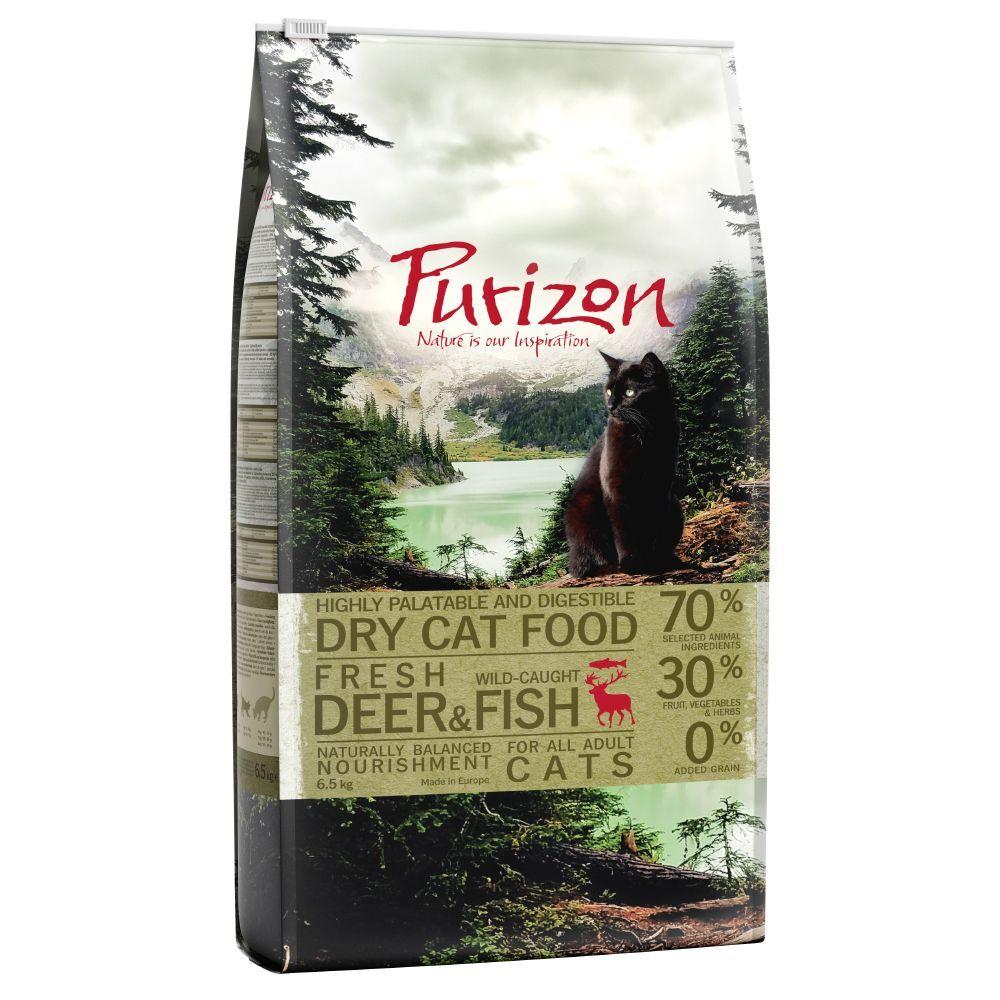 Purizon 2,5kg Purizon Adult, cerf & poisson - Croquettes pour chat