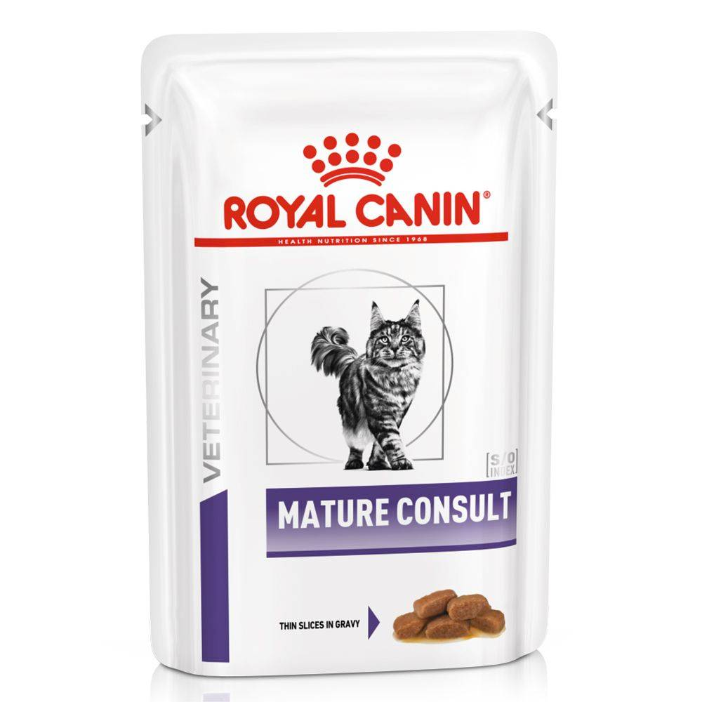 Royal Canin Veterinary Diet Royal Canin Veterinary Mature Consult - 12 x 85 g