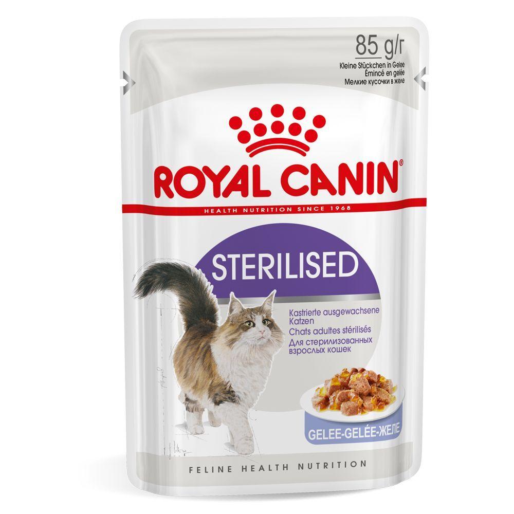 Royal Canin Lot Royal Canin 96 x 85 g - Ultra Light en sauce