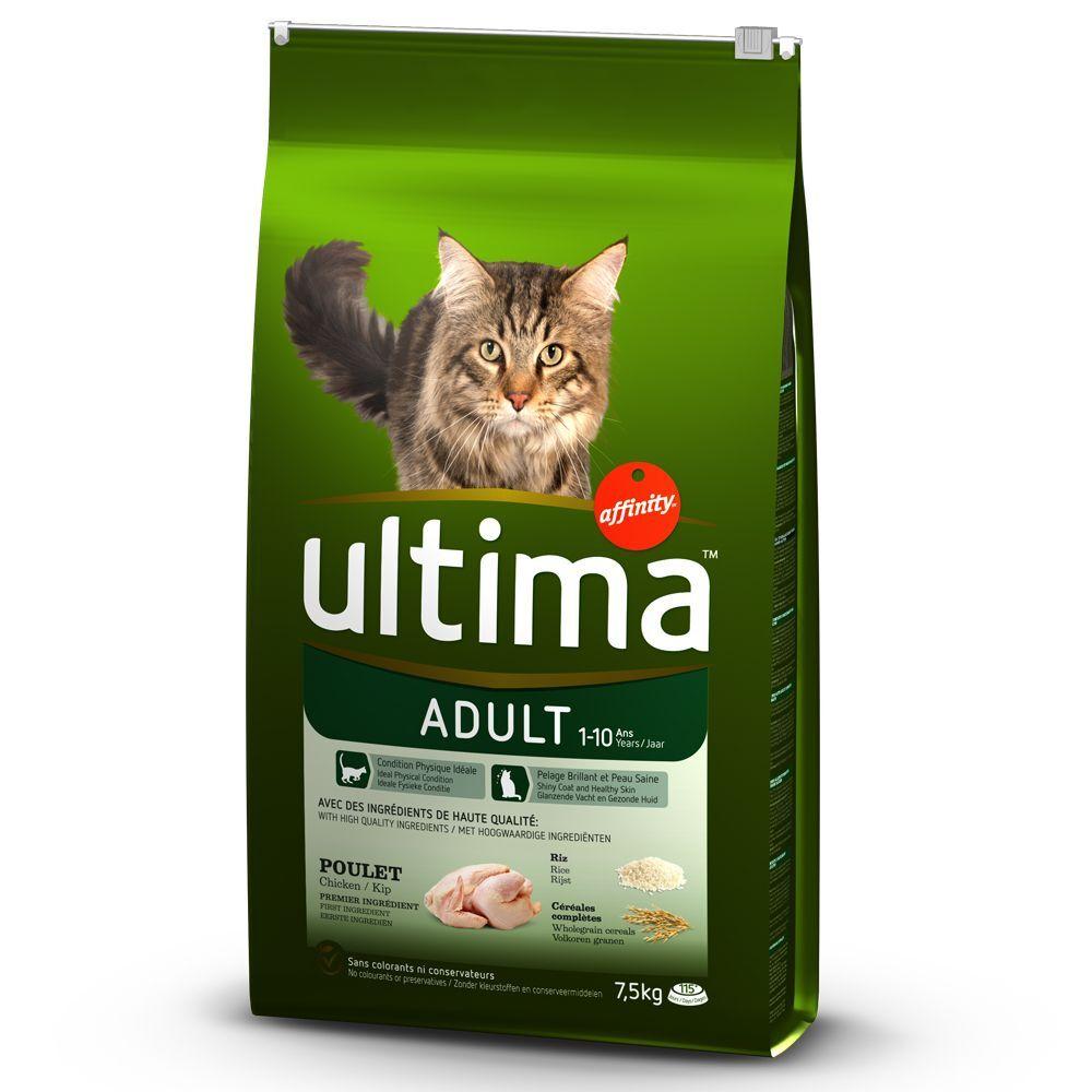 Affinity Ultima Ultima Adult, poulet & riz - lot % : 2 x 7,5 kg
