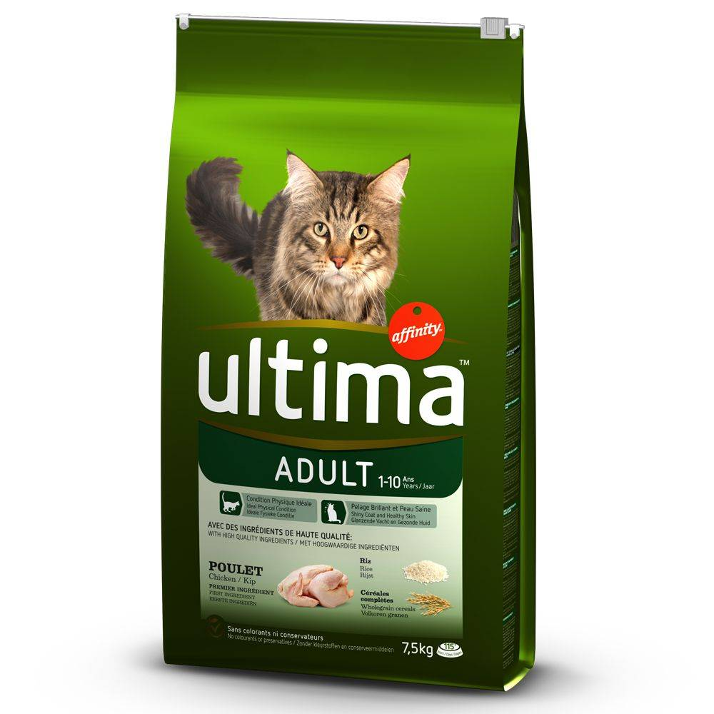 Affinity Ultima Ultima Adult, poulet & riz - 7.5 kg