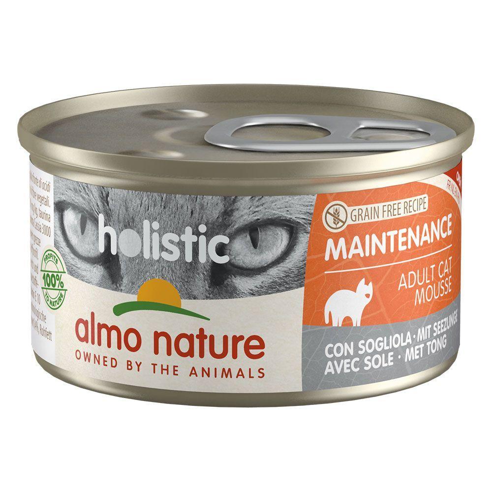 Almo Nature Holistic 24x85g Almo Nature Holistic Maintenance, poisson gras - Pâtée pour Chat