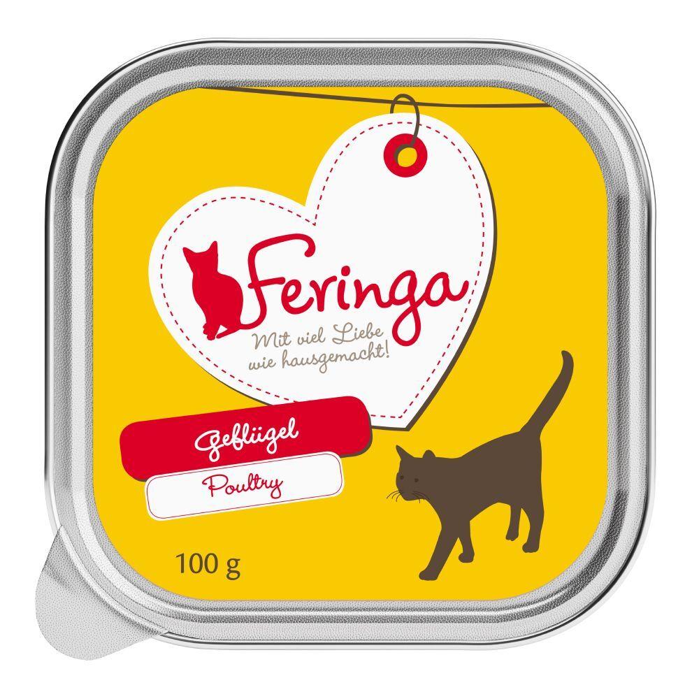 Feringa 48x100g Feringa Classic Meat Menu lapin, dinde - Pâtée pour chat