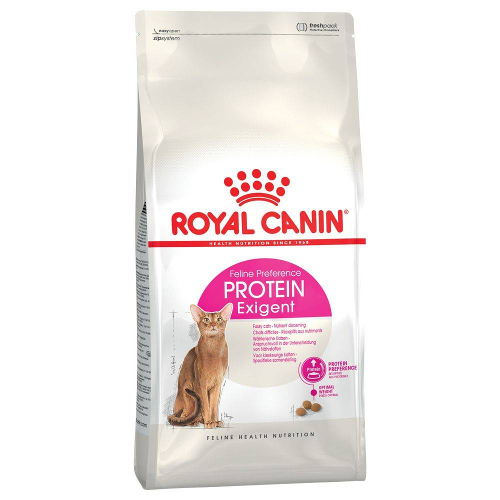 Royal Canin 2x10kg Protein Exigent 42 Royal Canin - Croquettes pour Chat